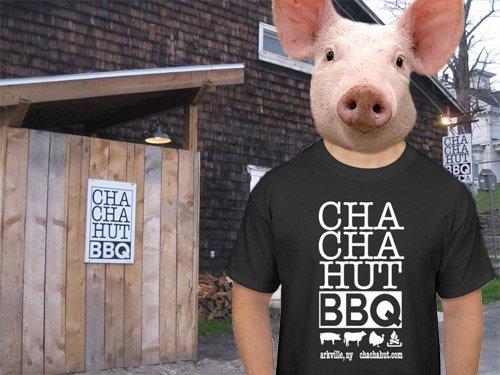 cha cha hut tshirts