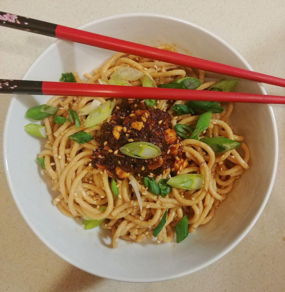 sesame noodles kool gang vegetarian vegan