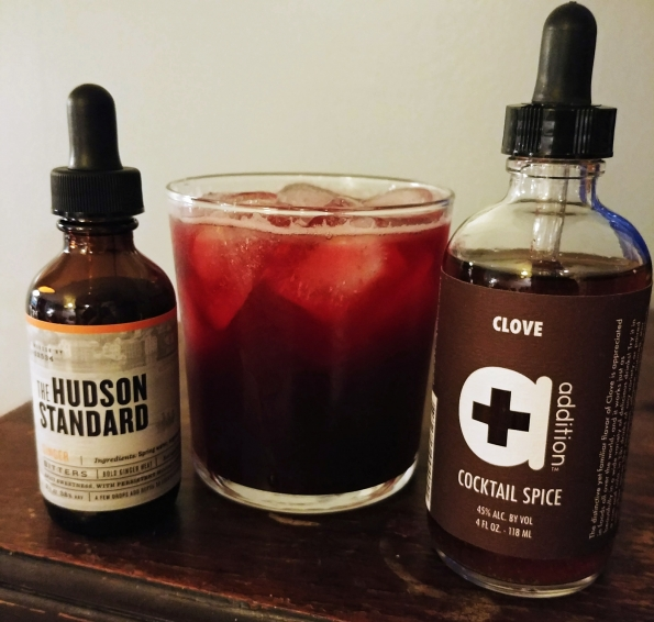 sorrel drink clove cocktail spice ginger bitters mindful drinking