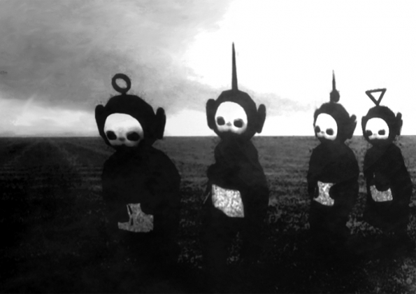teletubbies joy division mash up