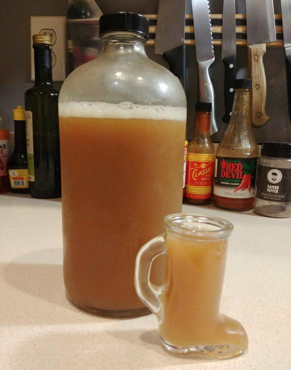 ginger beer shot healthy drink drinkarama filter