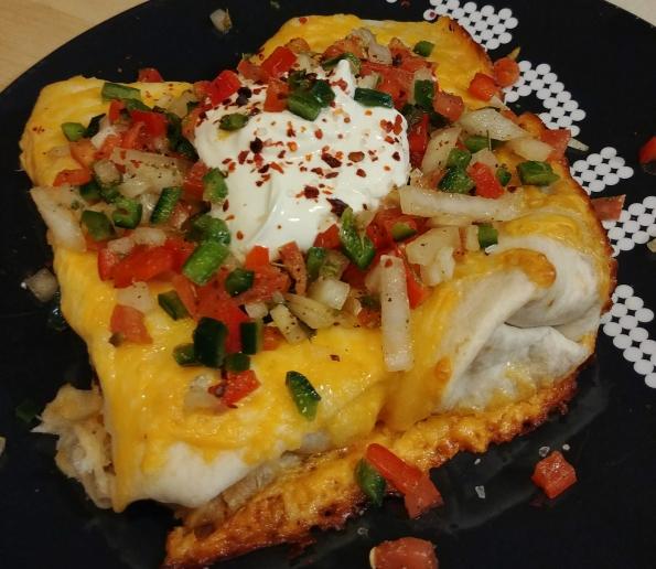 burrito black bean chili pico de gallo suave gerardo