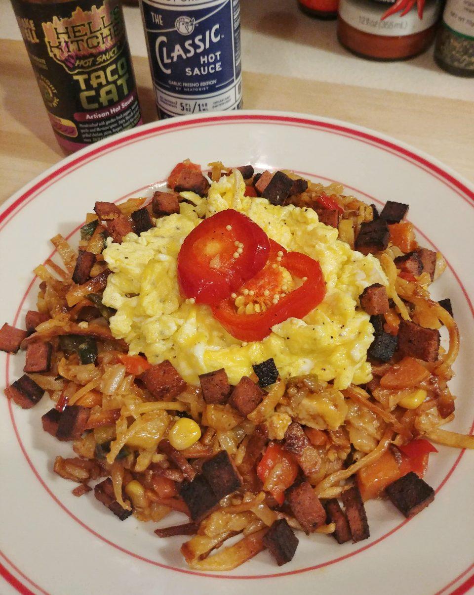 migas fried rice scrambled eggs migos