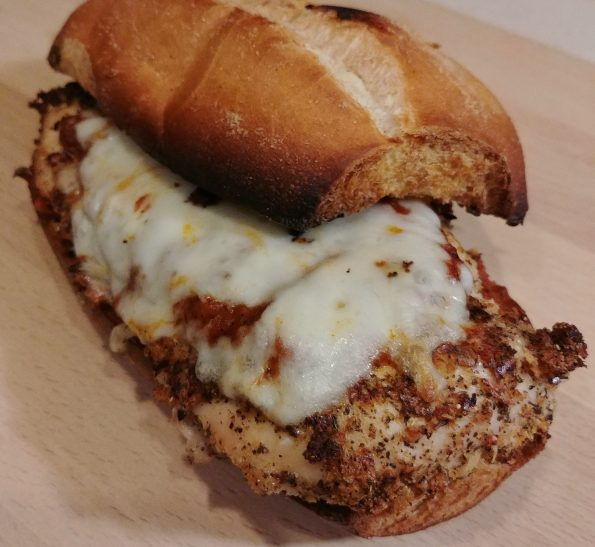 chicken parm sandwich parma chameleon culture club