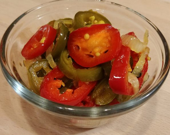 jalapeno pickled hot sweet sticky montrose