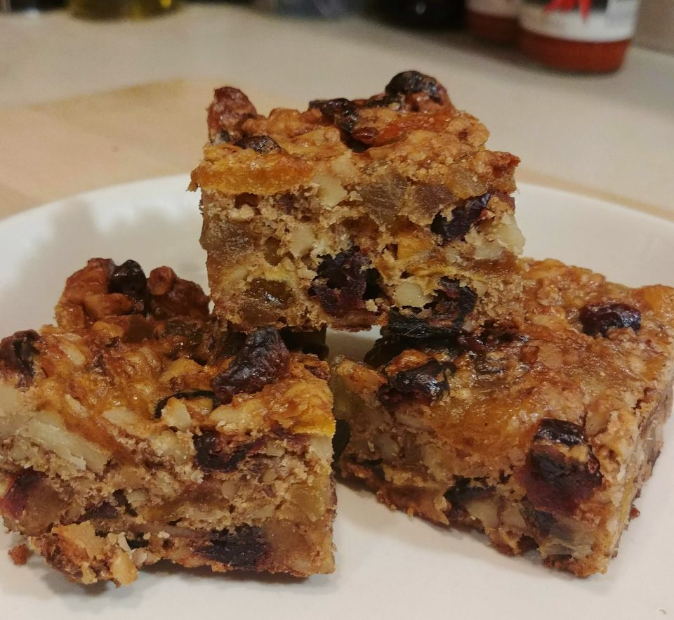 fruitcake bars that do not suck