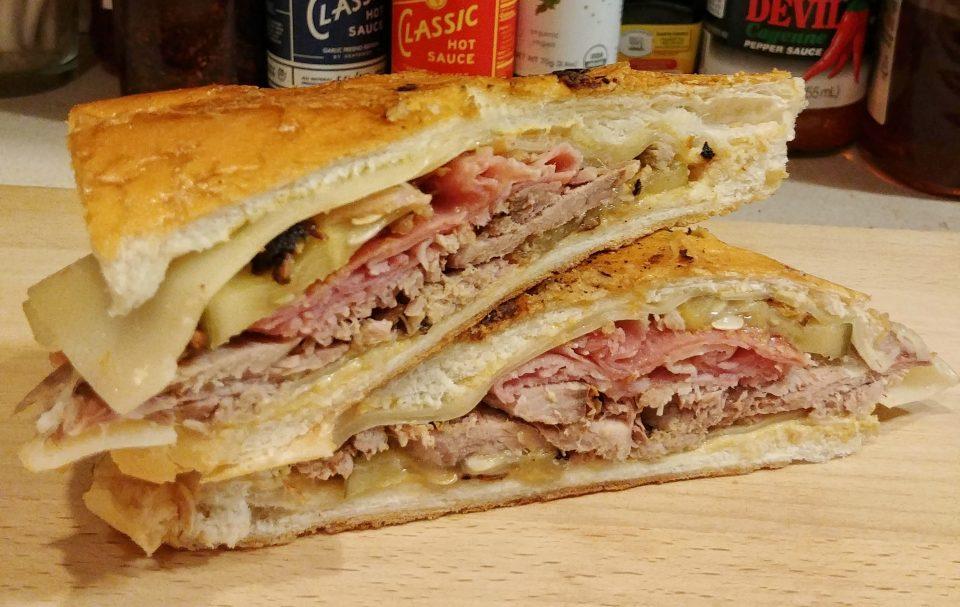 cuban sandwich pork ham salami pickles white zombie