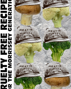 meat is murder vegetarian recipe zine