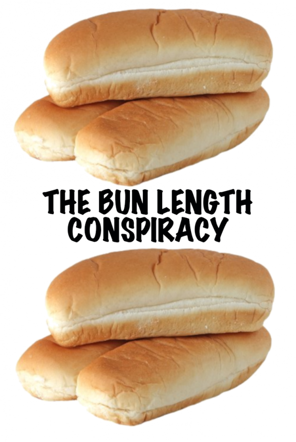 hot dog bun length conspiracy