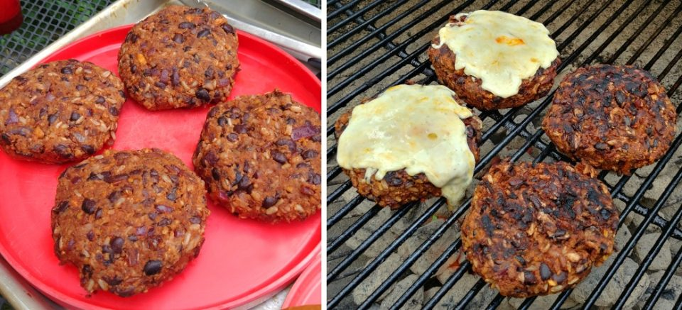 mody d black bean burgers before and during led zeppelin