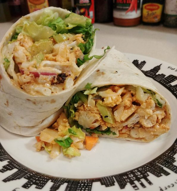 buffalo cauliflower wrap ted nugent amboy dukes