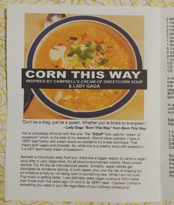 corn this way vegan corn chowder lady gaga
