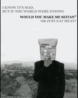seitan recipe vegan vegetarian quaranzine quarantine pandemic
