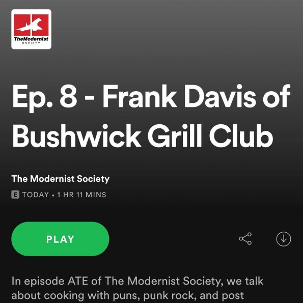 The Modernist Society Podcast Episode 8