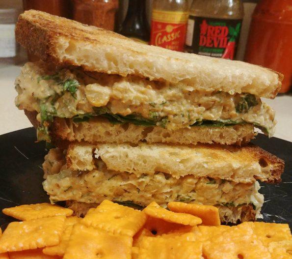 chickpea salad sandwich lonnie liston smith