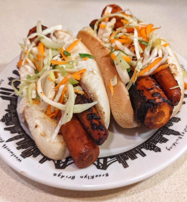 carrot dog slaw kansas