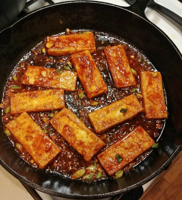 fried tofu gochujang foo fighters