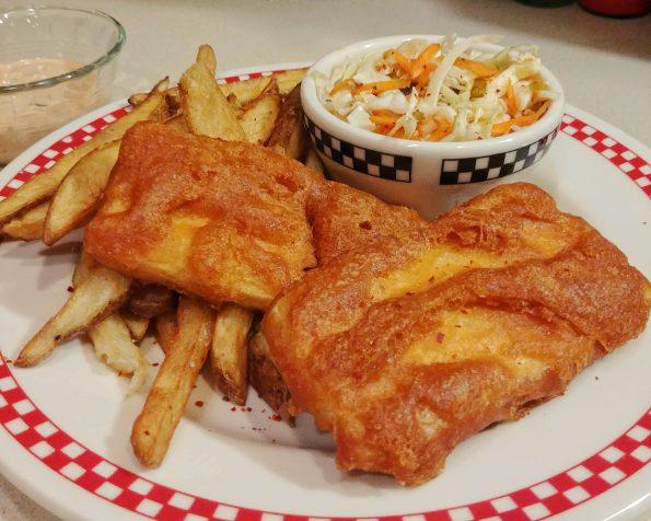 tofu battered fried chips remoulade slaw terence trent darby Sananda Maitreya