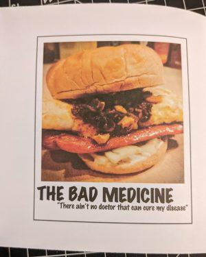 bad medicine breakfast dog